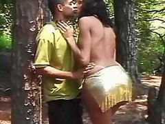 Brazilian tranny and guy suck cocks