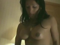 Sensual hot shemale fucks sexy babe